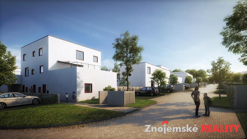 Prodej novostavby bytu 2+kk se zahrádkou Mansberk