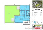 Prodej novostavby bytu 3+1 se zahrádkou Mansberk